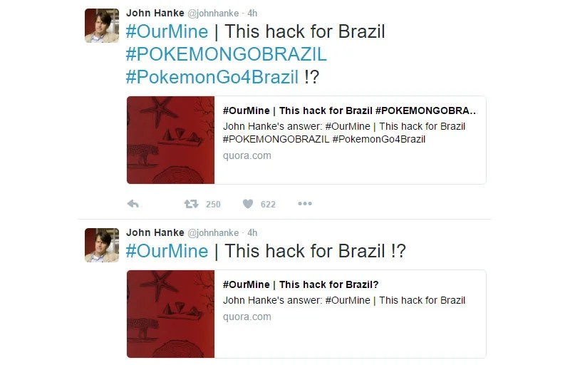Pokémon Go Boss Gets His Twitter Account Hacked