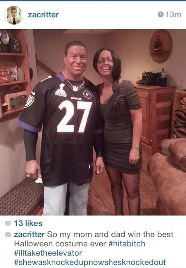 Ray Rice Blackface Halloween Costumes Are The Worst Idea