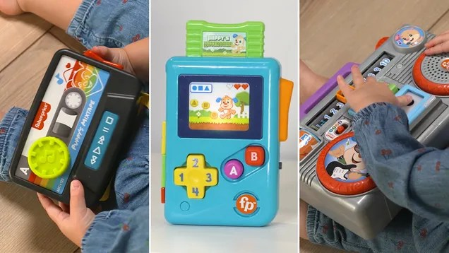 x2l2qjd1go1agzfwn0vr Fisher-Price's New Toys Will Teach Your Kids About the Glory of '80s Gadgets   Gizmodo
