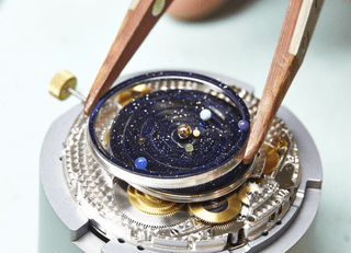 This Planetarium Watch is Elegant, Impressive, and Expensive