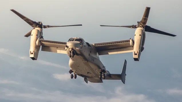 What It's Like To Fly In The Military's Crazy V-22 Osprey
