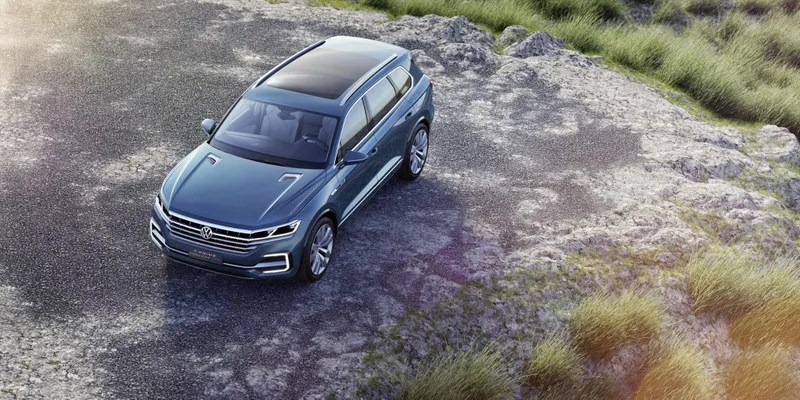 The Volkswagen T-Prime GTE Previews The Big SUV America Demands