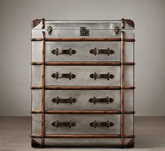 Retrotastic Furniture Made from Amazing Old Suitcases and Trunks