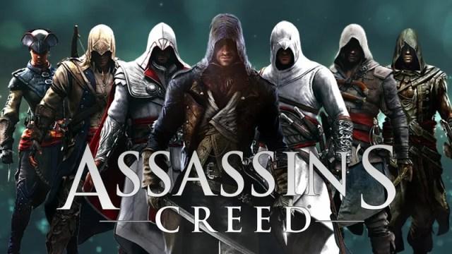 Hasil gambar untuk assassin's creed series
