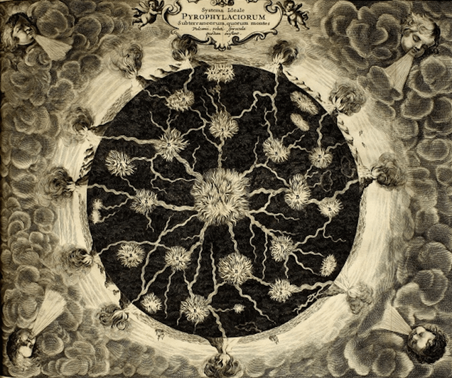 Remarkable 17th Century Maps Of The Earth's Interior