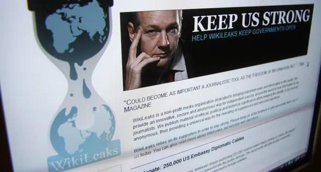 WikiLeaks vuelve a aceptar secretos y documentos filtrados