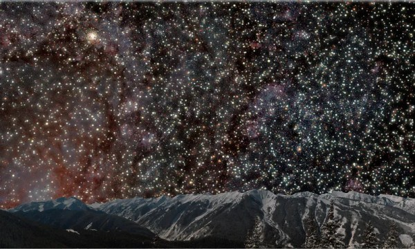 What The Night Sky Would Look Like From Inside A Globular