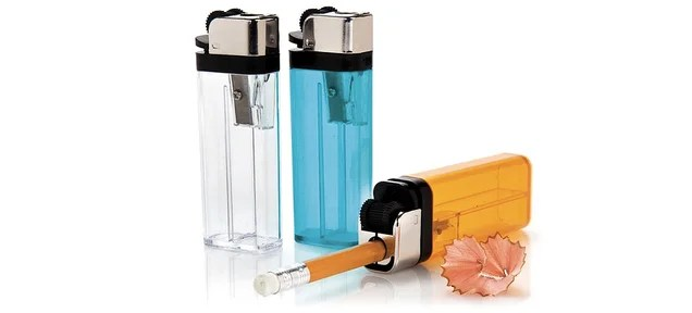 This Lighter Sharpener Destroys Wooden Pencils Without Fire
