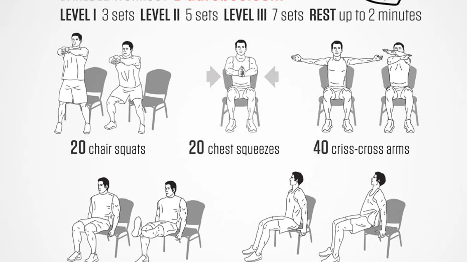 A Full Body Workout You Can Do In Your Office Chair