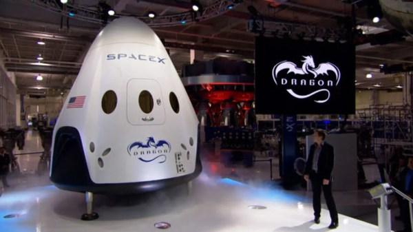 SpaceX Dragon V2 la nave capaz de llevar a 7 astronautas