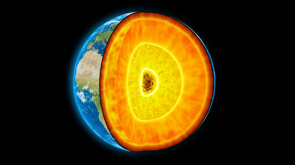 The Center of the Earth Is 1,000°C Hotter Than We Thought