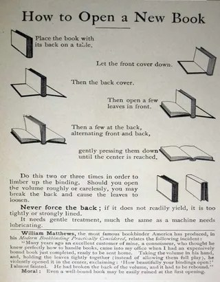 Break In a Hardcover Book (Without Ruining the Spine)
