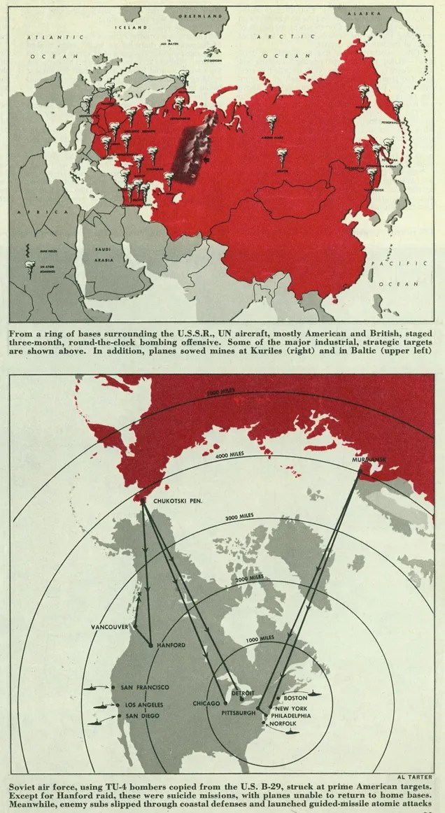 In Collier's Magazine, World War III Already Happened...In 1952