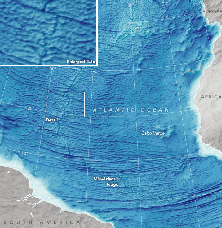 Here's the Most Complete Ocean Floor Map Ever Made