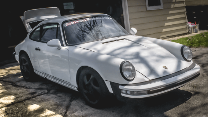 You Need This Super Cheap Porsche 911 Project Car Because Just Look At It