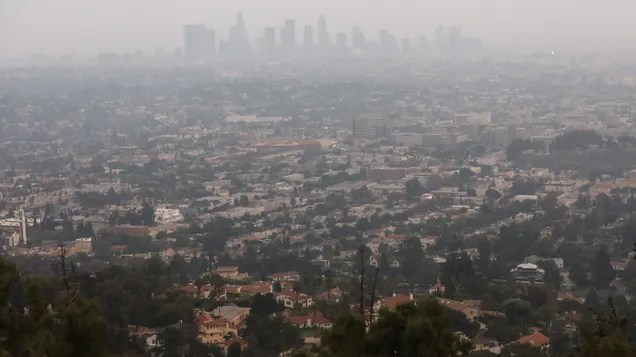 vpglg6oxc5aixhjc2srs Smoke from Western Wildfires Is Clouding Skies on the East Coast   Gizmodo