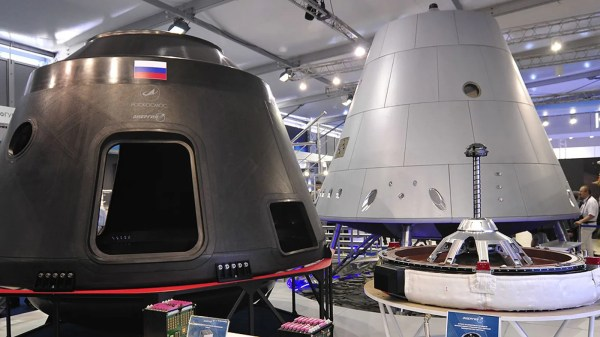 Heres an Early Look at Russias New Manned Spacecraft