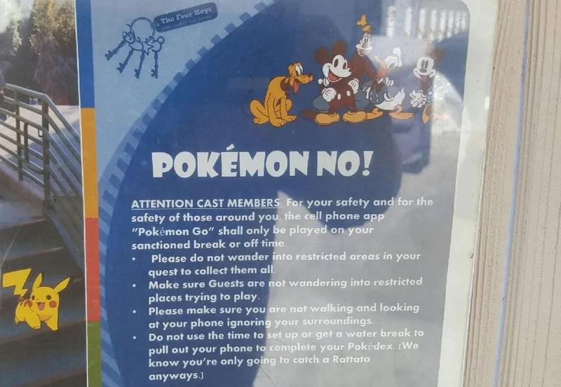 Disneyland Has APokémon Go Problem