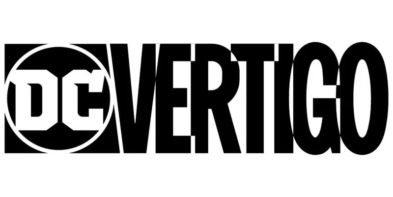 Vertigo's current logo, further enmeshing it into the wider DC brand.