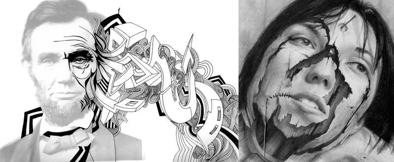 Gods and Monsters Hide Behind Childlike Eyes in Stunning Art