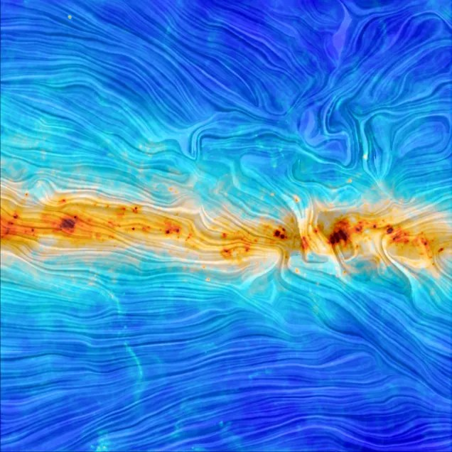 This Incredible Image Reveals the Shape of Our Galaxy's Magnetic Field