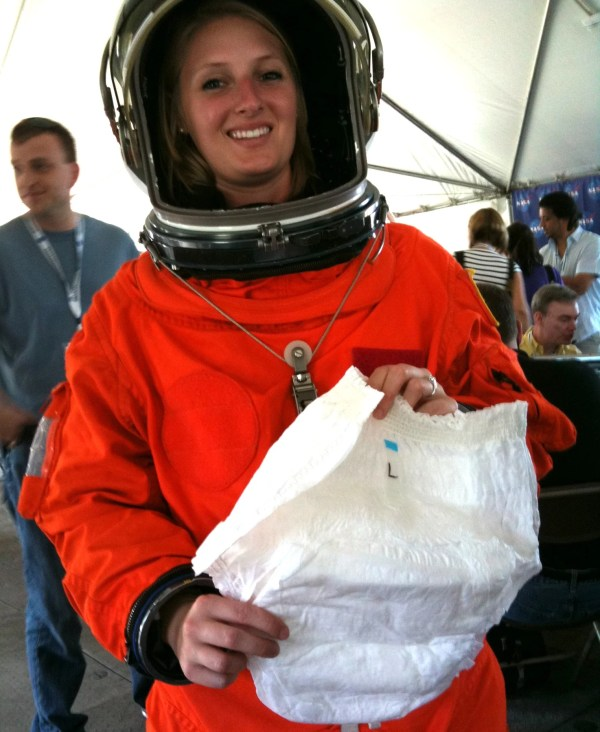 Why Do Astronauts Wear Space Diapers?
