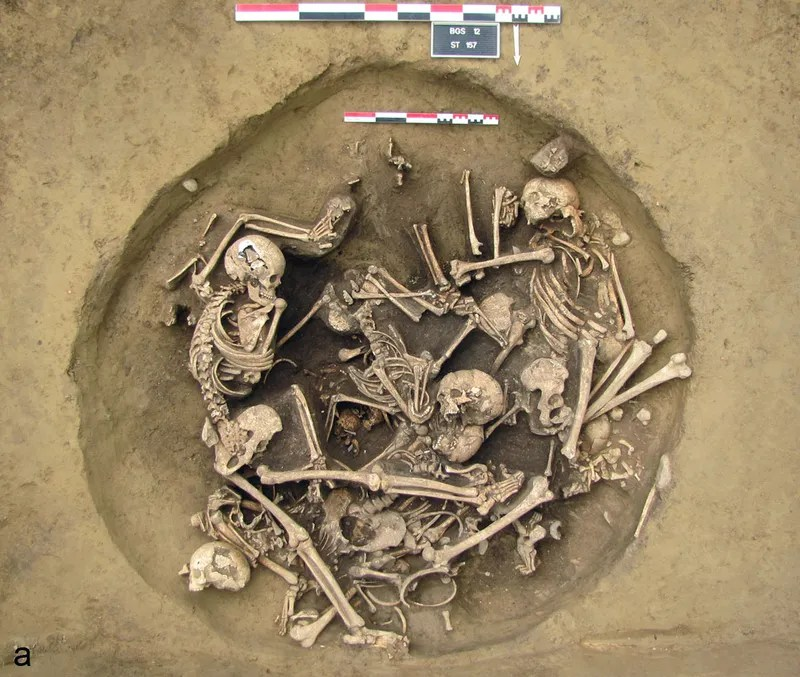 6,000 Year Old Death Pit Points to One Hell of a Brawl