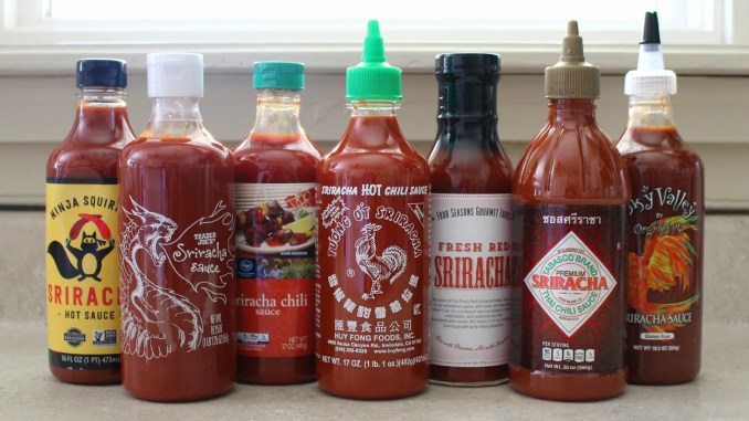 Tip Tester: How Other Sriracha Sauces Compare to the