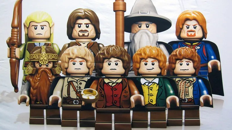 The First View of the Lego Lord of the Rings Minifigs After the incoming Lego Minecraft  the other big Lego franchise that nerds  everywhere are dying to get is Lego Lord of the Rings
