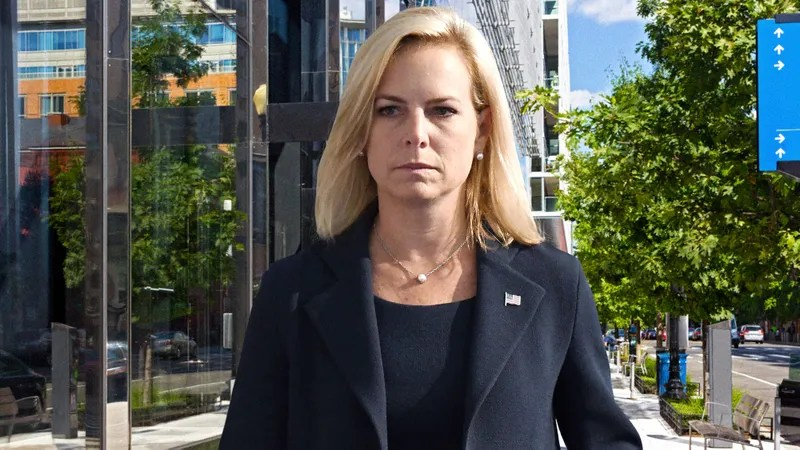 Illustration for article titled Kirstjen Nielsen Reminds Herself She A Private Citizen Now After Instinctively Detaining Mexican Child On The Street