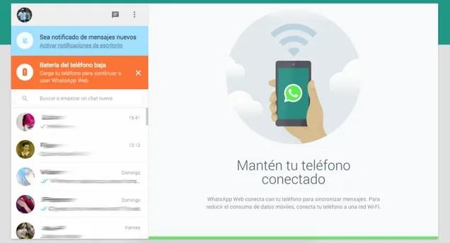 Así funciona WhatsApp Web desde el ordenador