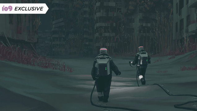 <div></noscript>Check Out This Exclusive Peek at Simon Stålenhag's Journey Into The Labyrinth</div>
