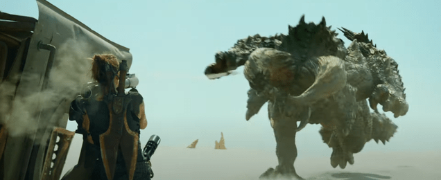 cgdqrqp5xegimd1xpnwv Monster Hunter's First Trailer Brings the Big Monsters (and Big Swords) | Gizmodo