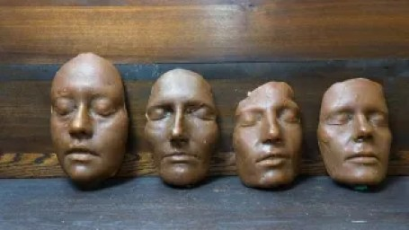 Illustration for article titled Ancient Roman funeral masks made from wax were freakishly lifelike