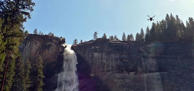 Drones Ordered Out of Yosemite by the National Park Service