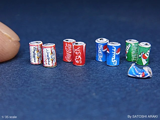 It's hard to believe these photos are just miniatures