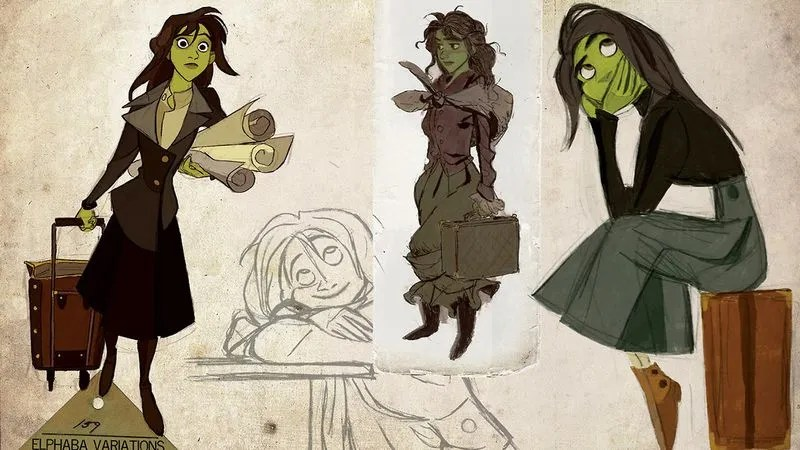 Check Out One Veteran Disney Animator's Concept Art For A