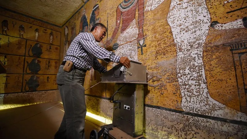 New Scans Made a Surprising Discovery in King Tut's Tomb