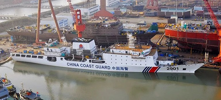"Why China Is Building The World's Largest ""Coast Guard"" Cutter"