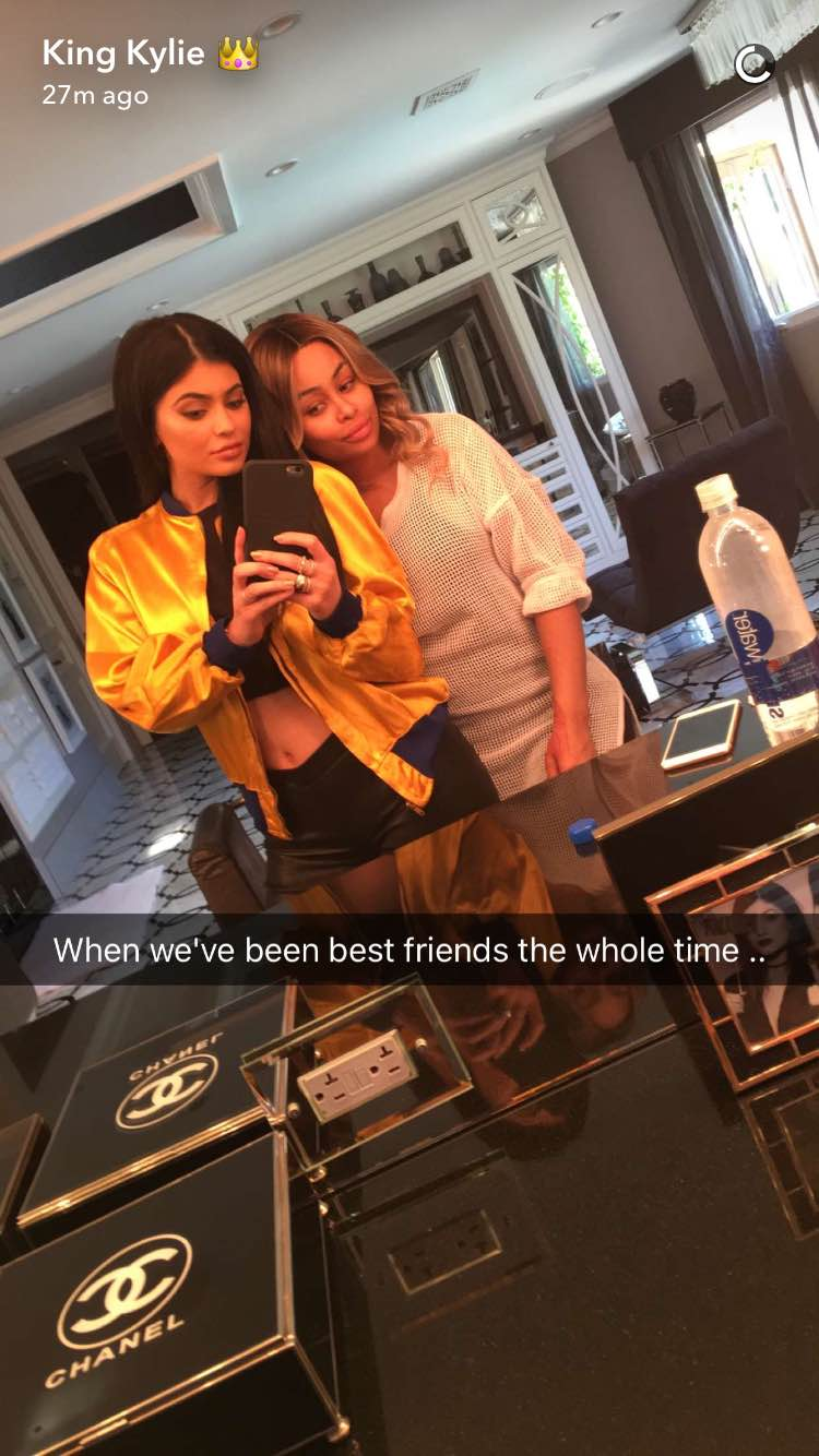 Apparently Kylie Jenner and Blac Chyna Are Best Friends Because Fuck Us