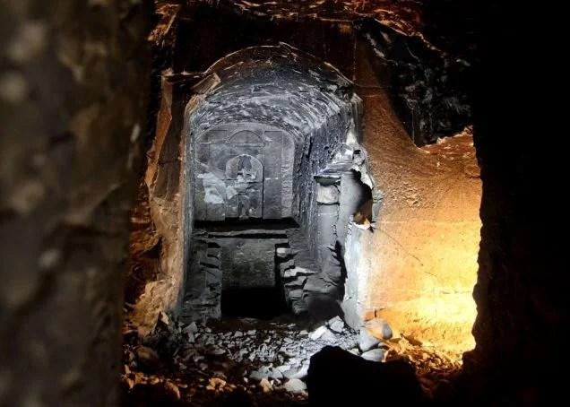 Arqueólogos encuentran una tumba dedicada al Dios egipcio de la muerte