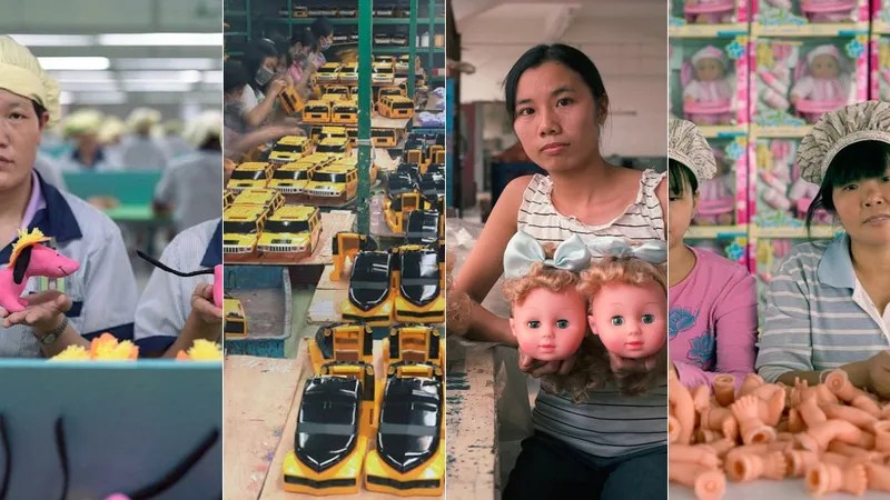 Sad Chinese Factory Workers Photographed With The Cheap