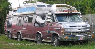 The GMC Van Makes a Comeback on eBay  Baby Some of my best childhood memories are napping away in the back bed seat of  our old van  But this four axle GMC is going to make me need some therapy