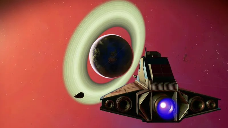 Image result for planets with rings no man's sky