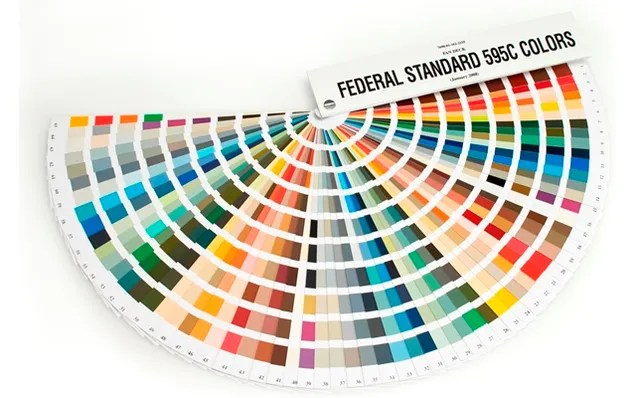 The 650 Official Colors the US Government Uses