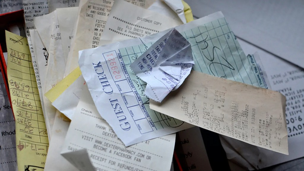 Protect Your Finances Keep Receipts Out Of Your Walle