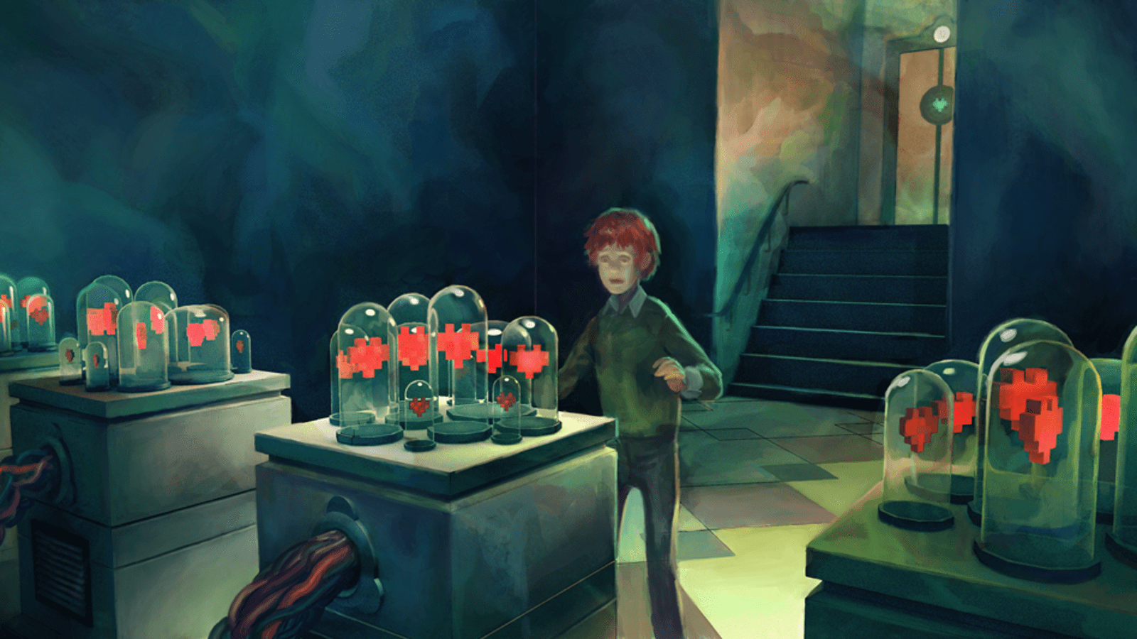 Concept Art Writing Prompt A Boy In The Hall Of Hearts