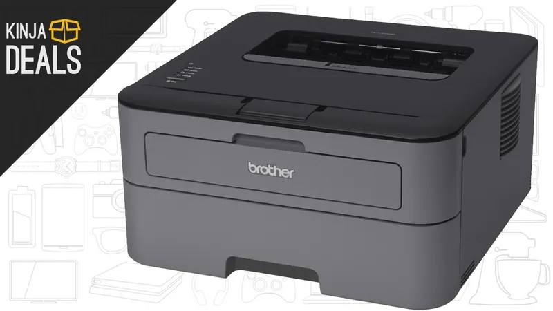 Stop Torturing Yourself With Inkjet: This Brother Laser Printer is Just $40