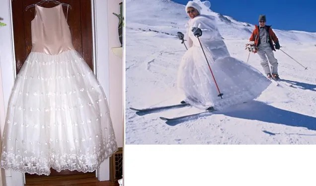 How To Clean Preserve AndOr Salvage Your Wedding Dress