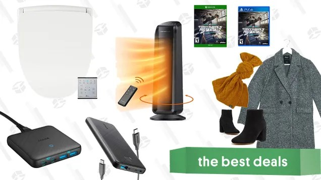 dm9gwoetqphzu3q3vecr Sunday's Best Deals: Bio Bidet Seats, ASOS Fall Apparel, Anker Charging Accessories, TaoTronics Oscillating Heater, and More | Gizmodo